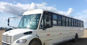 bus crew bus school bus