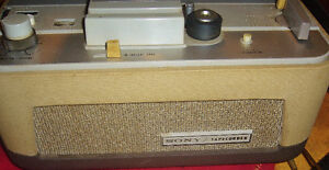 Used Vintage Sony TC-102 Reel-Reel Tape Recorder OHSC & Sony Mic West Island Greater Montréal image 2