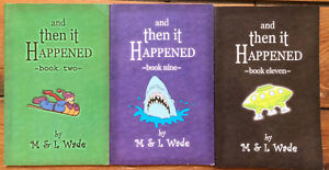 AND THEN IT HAPPENED chapter books 3 for $15