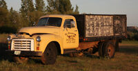 1953 GMC Grain Truck with Hoist