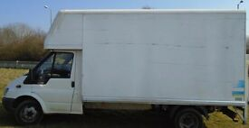 Removals man with a van service house clearance furniture transport