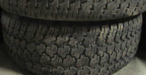 2 good used tires 17 inch=265=70=17===90% Tread Remaining