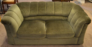 Loveseat in great condition excellent for a basement