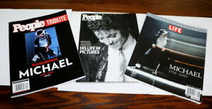 Michael Jackson tribute magazines 2009 - lot of 3 different ones