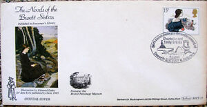 Stamp Commemorating Bronte novels