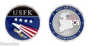 OSAN AIR BASE SOUTH KOREA  AIR FORCE USFK MILITARY 1.75