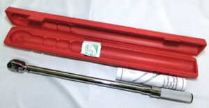 """Snap on click style 1/2"""" torque wrench"""