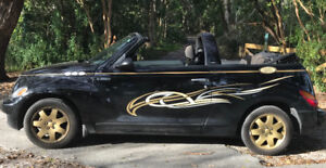 PT CRUISER CONVERTIBLE 2005   «  ANGEL WINGS » CUSTOM STRIPPING