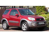 **1 Owner** Toyota RAV 4 2.0 VVTi NRG 4x4 - swb - ( Mot 08/17 )
