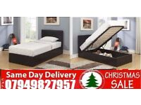 C......Special Offer small double single kingsize LEATHER STORAGE Bedding Miken