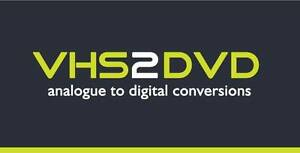 VHS2DVD - Analogue to Digital Conversions Craigieburn Hume Area Preview