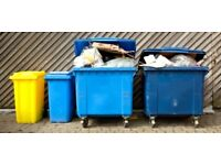 Rubbish removal/Commercial bin emptying