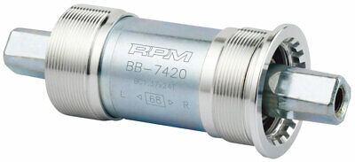 RMP Bottom Bracket JIS 68x122.5mm M8 Bolts Silver