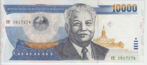 Laos Banknote P35b-36b-38 10,000-20,000-50,000 KIP 2003-04, UNC