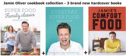 Jamie oliver super food recipe book other books gumtree jamie oliver cookbook collection 3 brand new hardcover books forumfinder Gallery
