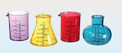 Chemistry Set Shooters Plastic Shot Glasses Set For Stag / Hen Do's, Xmas Party