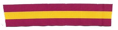 6 INCHES 1ST STYLE RIBBON FOR U.S.ARMY SPANISH WAR SERVICE  MEDAL - FS(USI 475)