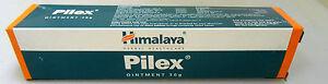 Himalaya 30g Pilex Cream Ointment for Relief from Piles Hemorrhoids Bleeding USA