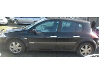BREAKING 2005 RENAULT MEGANE 1.9 DCI - NO TEXTS - NEWRY / ARMAGH