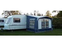 Lunar Lexon CD 2002 Touring caravan