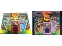 2 Packs Of Pokemon X&Y Double Pack, 3 Card Promo & Coin Blister Pack