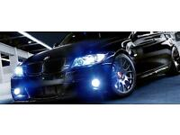 XENON LIGHTS AND IN CAR AUDIO SOUND SYSTEM INSTALLATION bmw vw mercedes mini nissan honda jaguar