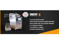 COMMERCIAL CATERING NEW 1025 MODEL MAKFRY PRESSURE FRYER MACHINE CHICKEN COOKER