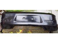 Vauxhall astra rear bumper 5 door sapphire black