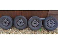 Winter wheels and tyres 185/60R14 Honda Civic