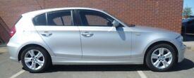 BMW Silver 116i SE 1 Series 59 Sept 2009 39,860 Low Mileage 5 Door 7 Speed Hatchback £5300