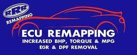 remapping DPF removal EGR delete ANTI LAG ECU repairs UPGRADES