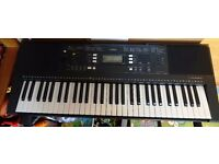 Yamaha PSR-E343 Portable Keyboard - Used in Good condition - with Stand