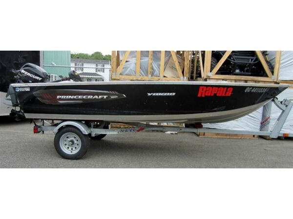 Used 2014 Princecraft Yukon 14 Pieds Mercury 20 Hp