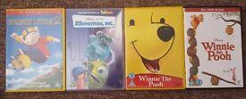 4 Children's DVDs for £6