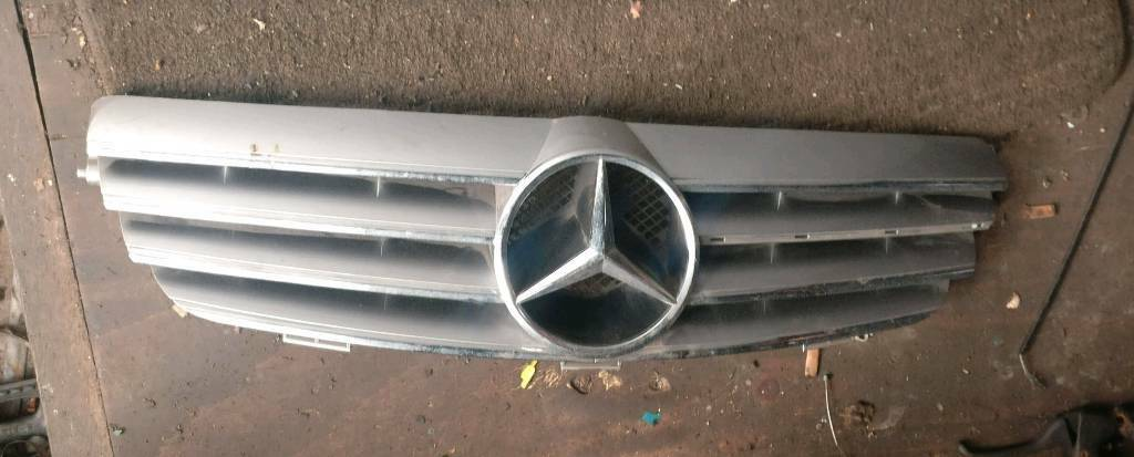 Genuine Mercedes Benz W209 209 Clk Front Bonnet Grill In Moseley