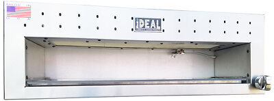 New 36 Snack Line Cheesemelter By Ideal Cooking Products. Made In Usa. Etl List