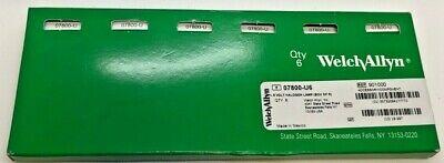 Box Of 5 - Welch Allyn 07800-u 6v Halogen Lamp - New