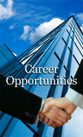 BUILD A CAREER OF YOUR OWN! APPLY NOW!