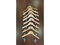 380 Children's wooden trouser/outfit hangers