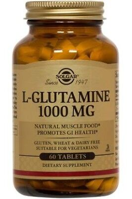 L-Glutamine 1000mg Solgar 60 Tabs for sale  Woodinville