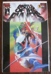 Battle of the Planets comics #1 (5 different covers) Cambridge Kitchener Area image 2