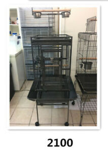 brand new Parrot cage playtop with hanger on sale now