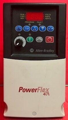 Allen Bradley PowerFlex 40 AC Motor Drive 1.5kW, 2HP, 3PH, 480V, 5.7A