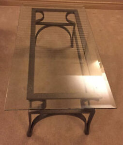 Glass Coffee & End Tables - Excellent Condition