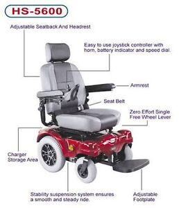 Powerchair Silver CTM HS5600 South Brisbane Brisbane South West Preview