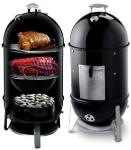 """Weber 18.5"""" Smokey Mountain Cooker - In Great Condition"""