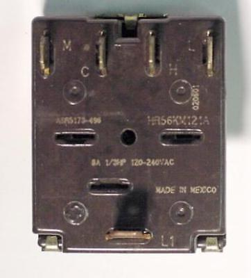 Ge Asr5173-496hr56km121a 5-position Rotary Switch 8 Amp 31839