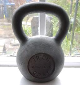 NEW IronGoat Kettlebell 24kg Cast Iron