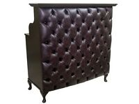New Boutique Salon Reception Desk Counter HIGH GLOSS - Waiting Sofa -click See All Ads -click Video