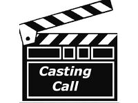 Open Casting for Film Extras on SATURDAY 24TH September 11 am to 5 pm open